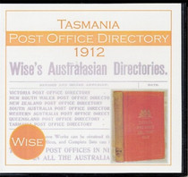 Tasmania Post Office Directory 1912 (Wise)