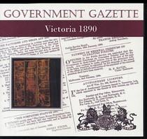 Victorian Government Gazette 1890