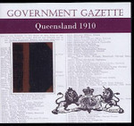 Queensland Government Gazette 1910