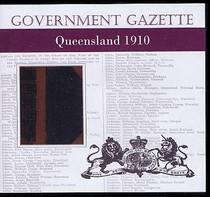 Queensland Government Gazette 1910