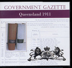 Queensland Government Gazette 1911