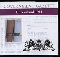 Queensland Government Gazette 1911