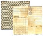 Bazzill Basics Heritage Note Cards 2 (Horizontal)