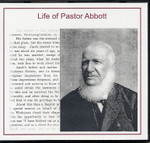 Life of Pastor Abbott