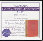 Tasmania Post Office Directory 1913 (Wise)