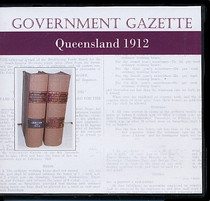 Queensland Government Gazette 1912