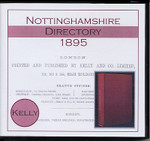 Nottinghamshire 1895 Kelly's Directory