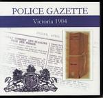 Victoria Police Gazette 1904