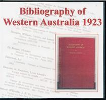 Bibliography of Western Australia 1923