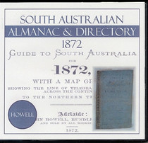 South Australian Almanac and Directory 1872 (Howell)