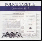 Queensland Police Gazette 1917