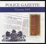 Victoria Police Gazette 1905