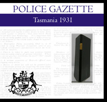 Tasmania Police Gazette 1932