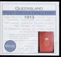 Queensland Post Office Directory 1913 (Wise)