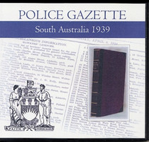 South Australian Police Gazette 1939