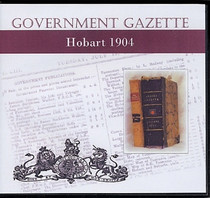 Hobart Government Gazette 1904
