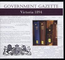 Victorian Government Gazette 1894