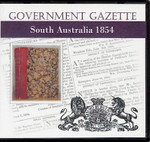 South Australian Government Gazette 1854