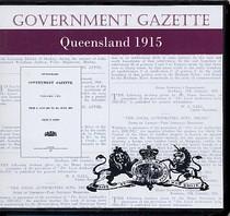 Queensland Government Gazette 1915