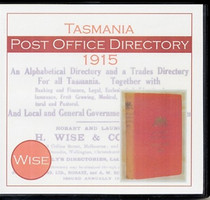 Tasmania Post Office Directory 1915 (Wise)