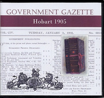 Hobart Government Gazette 1905