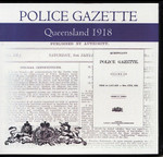 Queensland Police Gazette 1918