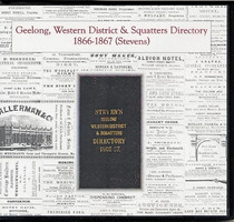 Geelong, Western District and Squatters Directory 1866-1867 (Stevens)