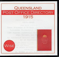 Queensland Post Office Directory 1915 (Wise)