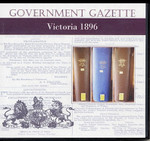 Victorian Government Gazette 1896