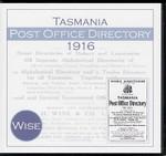 Tasmania Post Office Directory 1916 (Wise)