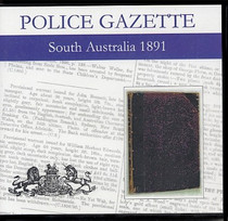 South Australian Police Gazette 1891