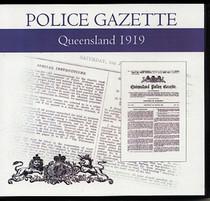 Queensland Police Gazette 1919