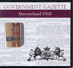 Queensland Government Gazette 1918
