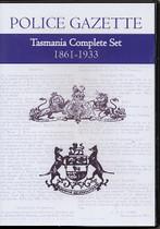 Tasmania Police Gazette Complete Set 1861-1933