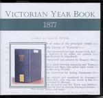Victorian Year Book 1877