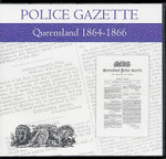 Queensland Police Gazette 1864-1866