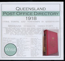 Queensland Post Office Directory 1918 (Wise)