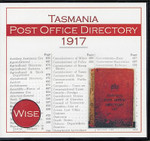 Tasmania Post Office Directory 1917 (Wise)