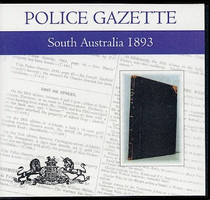 South Australian Police Gazette 1893