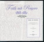 Truth and Progress 1868-1880