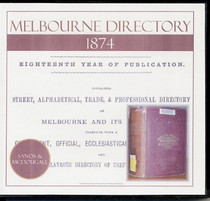 Melbourne Directory 1874 (Sands and McDougall)