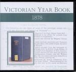 Victorian Year Book 1878