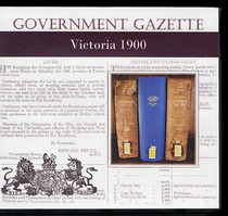 Victorian Government Gazette 1900