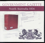 South Australian Government Gazette 1856