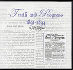 Truth and Progress 1891-1894