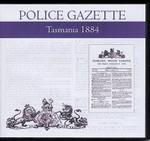 Tasmania Police Gazette 1884