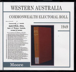 Western Australia Commonwealth Electoral Roll 1949 Moore