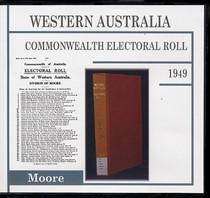 Western Australia Commonwealth Electoral Roll 1949 Moore