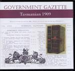 Tasmanian Government Gazette 1909