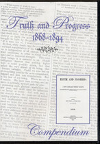 Truth and Progress Compendium 1868-1894